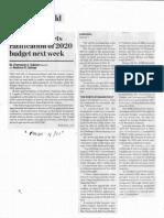 Business World, Dec. 4, 2019, Congress targets ratification of 2020 budget nest week.pdf