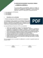 Formato Acta de Eleccion Supervisor SST