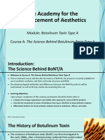 Module 1, Course a - The Science Behind Botulinum Toxin Type A