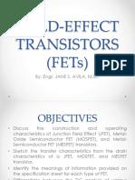 1 Field Effect Transistors (FETs)