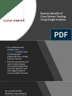 Business Benefits of Cross Domain Tracking Using Google Analytics