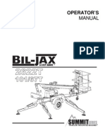 Bil Jax 2622T_manual
