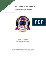 Criminal Procedure Court Observation