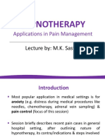 HYPNOTHERAPY_Applications in Pain Management