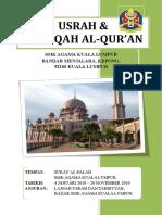 Kertas Kerja Usrah & Halaqah Al-Qur'An