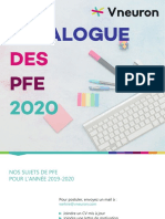 Catalogue PFE 2020 Vneuron