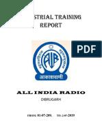 ALL INDIA RADIO, Dibrugarh Report (Main)