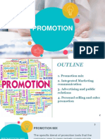 Promotion ( 4Ps)