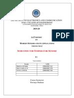 MSA Semiconductor Sensor Report