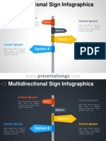 Multidirectional Sign Infographics PGo 4 3