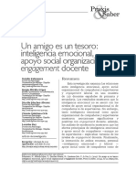 Extremera Et Al., (2019) IE Apoyo Organizacional Engagement Docente