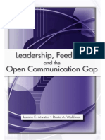 Leanne E. Atwater, David A. Waldman - Leadership, Feedback and the Open Communication Gap (2007).pdf