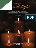 23 Dec 2015 Carols by Candlelight Service