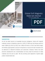 Global Soft Magnetic Materials Market