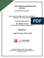 Akhil Kumar Thakur Docket 1