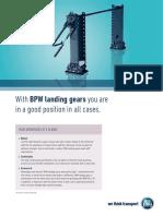 BPW Landing Leg Flyer 17271601e 2016