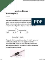 Basic Electronics - Diodes - Tutorialspoint