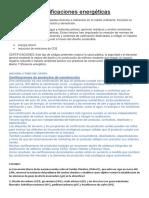 Certificaciones Energéticas Caso Vigo