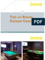 Top 10 Room Escape Games