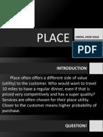 Place MIx - Marketing