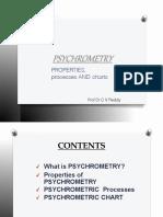 Psychrometry ppt