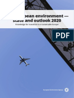 Soer2020 Europes Environment State and Outlook Report