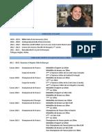Curriculum vitae Caroline Jouisse