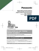 Panasonic Phone Tg6591_pnqx3174xa