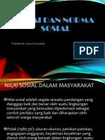 10. Nilai Dan Norma Sosial