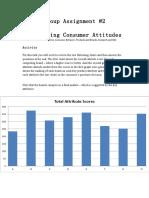 Monitoring Consumer Attitudes Assignment