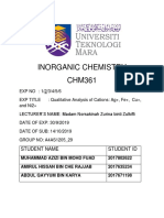 Chm 361 Cover Lab Report