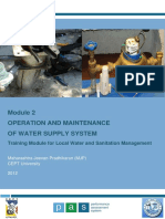 Module_2 Operation_maintenance of Water Supply System