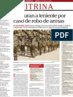 Robo de Armas en Cuartel Militar de Guatemala I