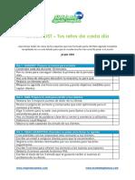 Checklist Agenda Completa