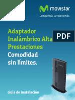 Guia Instalacion Adaptador Inalambrico Altas Prestaciones VB264T Observa