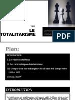 Les Régimes Totalitaires