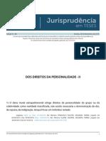 Jurisprudencia Em Teses 138 - Dos Direitos Da Personalidade - II