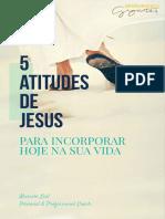 eBook 5 Atitudes de Jesus