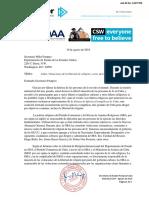 Cert Doc 2019-8-19 Pompeo Cuba FoRB Sanctions Spanish