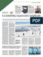La Antártida y Su Presente Complicado