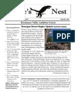 September 2010 Eagle's Nest Newsletter, Kissimmee Valley Audubon Society