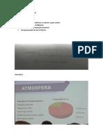 ANOTAÇÕES DE AULA BIOQUÍIMICA E FÍSICA