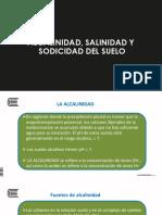 Clase - Alcalinidad, Salinidad y Sodicidad Del Suelo