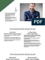 TIM MANAJEMEN BANGLALINK dan JAWABAN SOAL 20-7.pptx