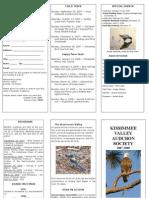 Conservation, Kissimmee Valley Audubon Society