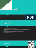 Komposit – MBG1