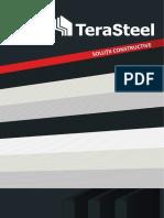 Terasteel Solutii Constructive panouri sandwich si structuri metalice RO+RS