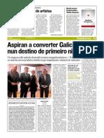 """""""David Lorenzo Cardiel publica 'Hablar despacio'"""". - Recomendación literaria en El Correo Gallego (03.12.2019)"""