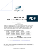 EasySync USB to Serial Converters Manual #365-0766