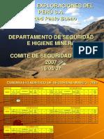 Comité de Seguridad Marzo